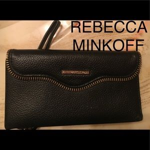 Rebecca minkoff case mate leather wallet/phonecase
